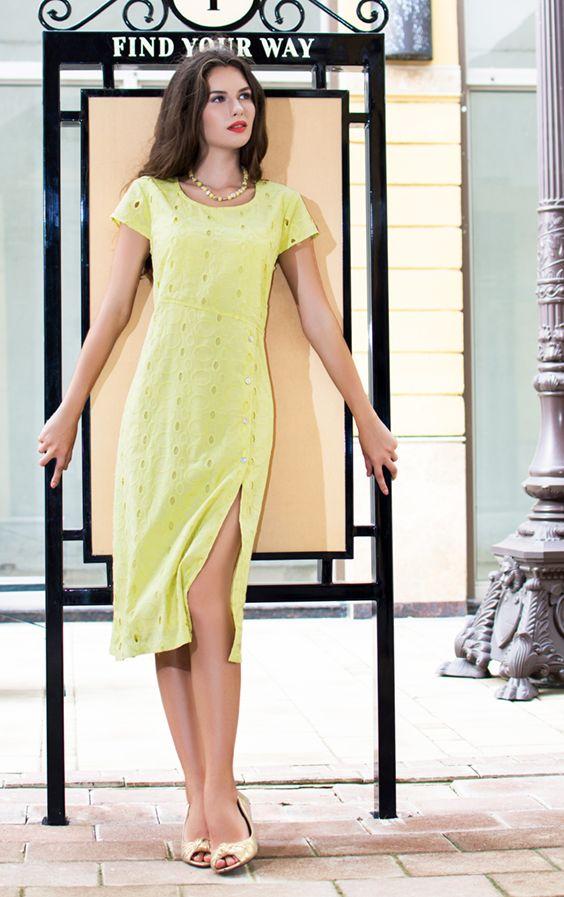ZEYA Cotton Dress