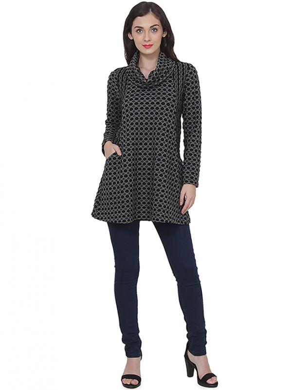ELIZE Tunic Sweater