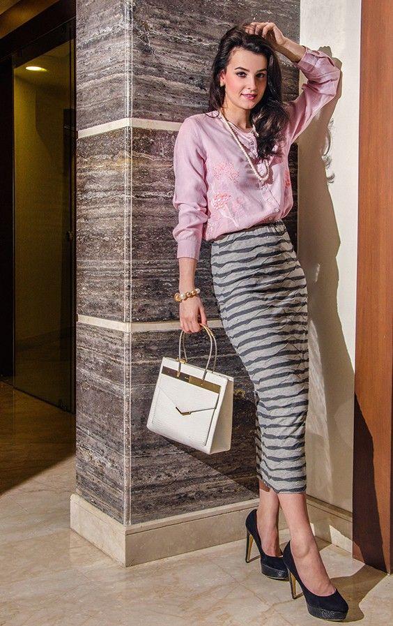AGNES Jacquard Skirt