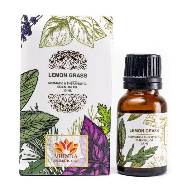 Lemon Grass Essential Oil - 15 ml